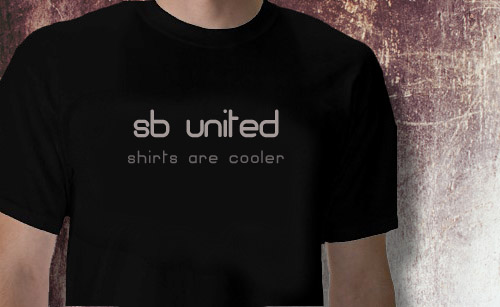 SB United T-shirts